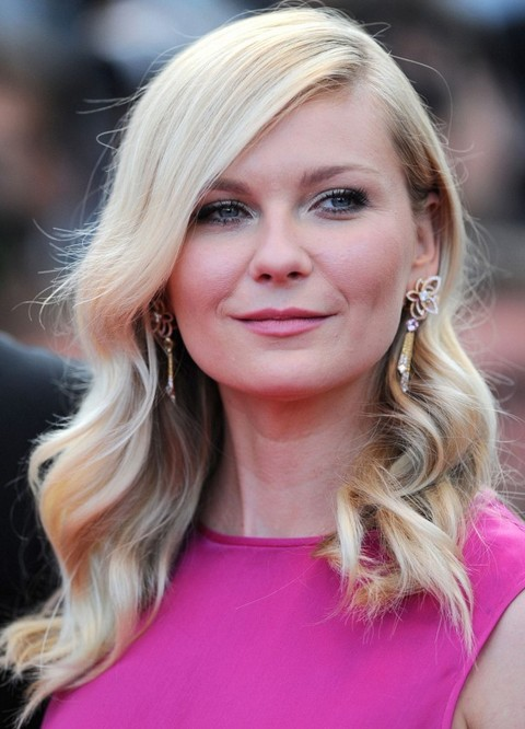 Kirsten Dunst Hairstyles Radiant Long Curls   Pretty Designs