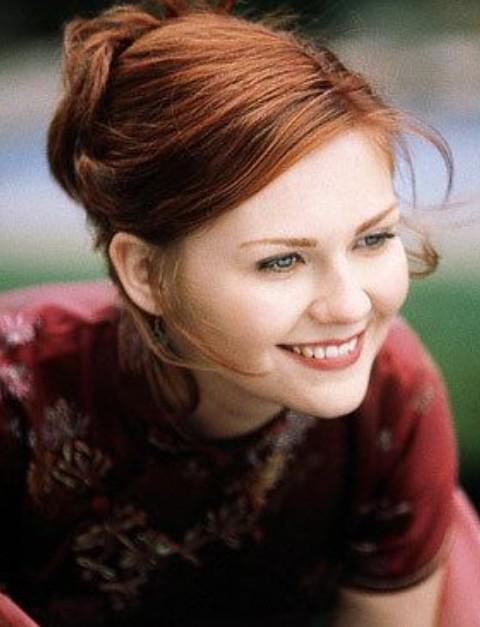 Kirsten Dunst Hairstyles: Sweet Updo