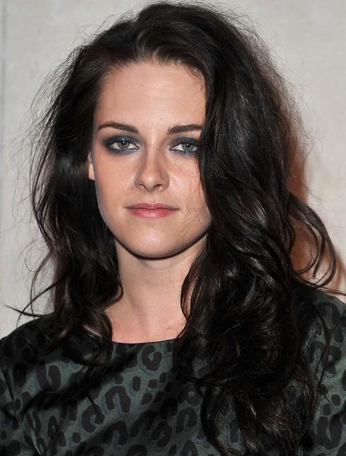 Kristen Stewart Long Hairstyle: Raven Curls