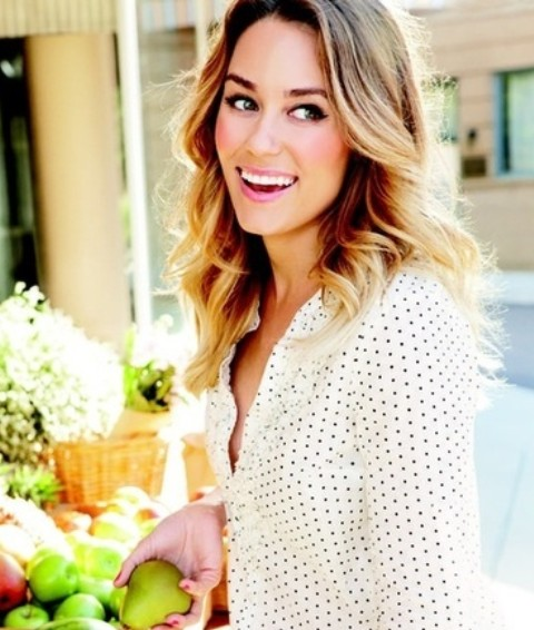 Lauren Conrad Hairstyles: Cheerful Curls