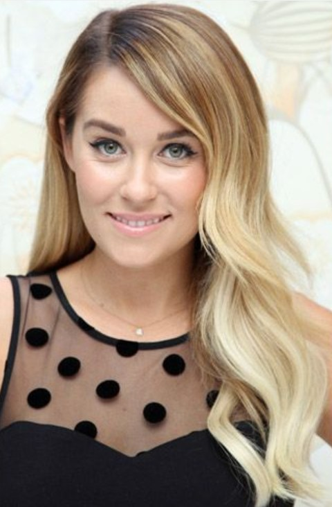 Lauren Conrad Hairstyles Ombre Waves