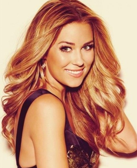 Lauren Conrad Hairstyles: Voguish Curls