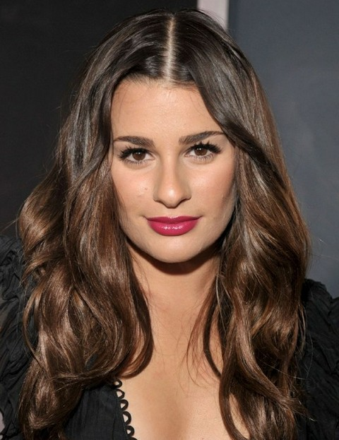 Lea Michele Hairstyles: Gorgeous Curls