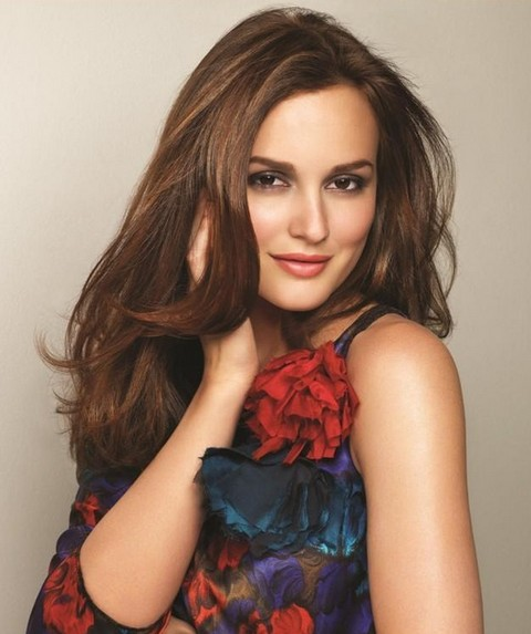 Leighton Meester Hairstyles: Fashionable Hair
