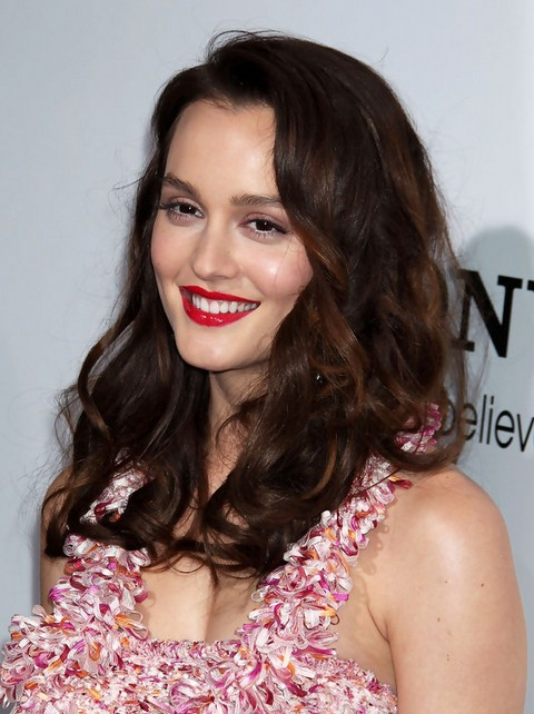 Leighton Meester Hairstyles: Luxrious Curls