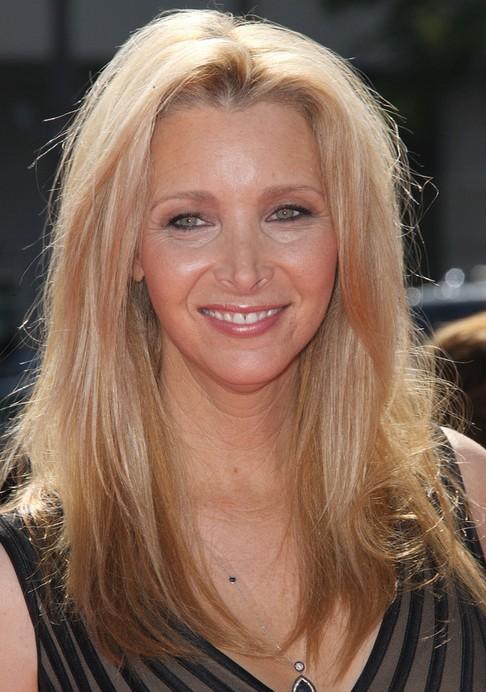 Lisa Kudrow Long Hairstyle: Center Part