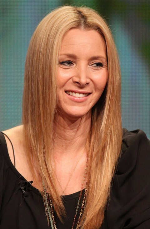 Lisa Kudrow Long Hairstyle: Side Part