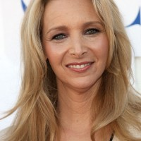 Lisa Kudrow Long Hairstyle: Uneven Hair