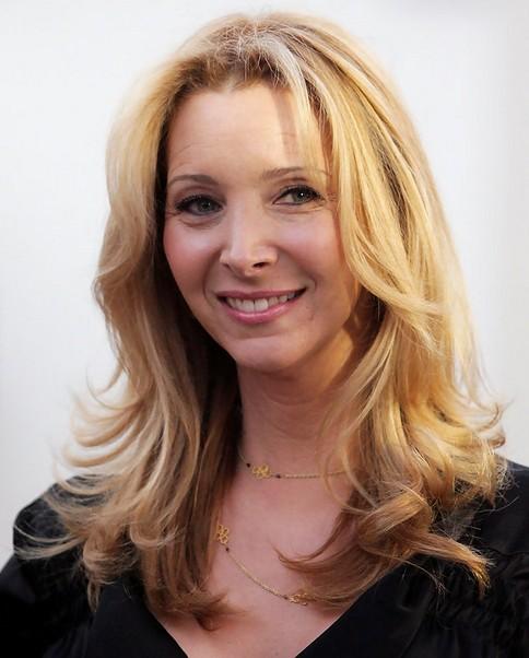 Lisa Kudrow Medium Length Hairstyle: Honey-kiss Curls