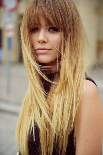 dtraight hair styles