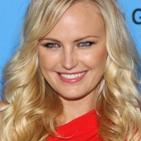 Malin Akerman Long Hair style: 2014 Blonde Curls