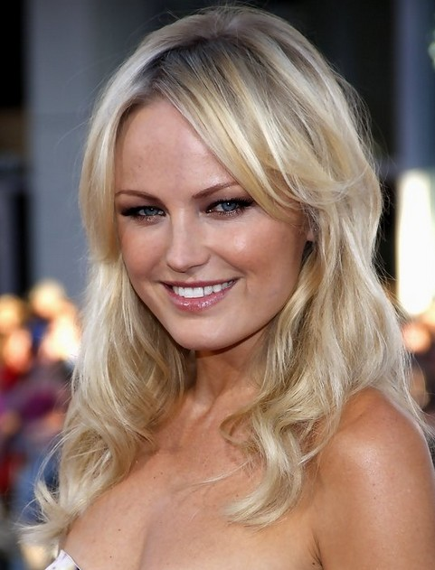 Malin Akerman Long Hairstyle Malin Akerman