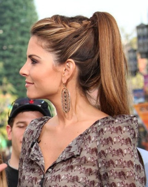 Admirable Top 40 Maria Menounos Gorgeous Hair Styles Pretty Designs Short Hairstyles For Black Women Fulllsitofus