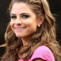 Maria Menounos Hairstyles: Sweet Waves with Braid