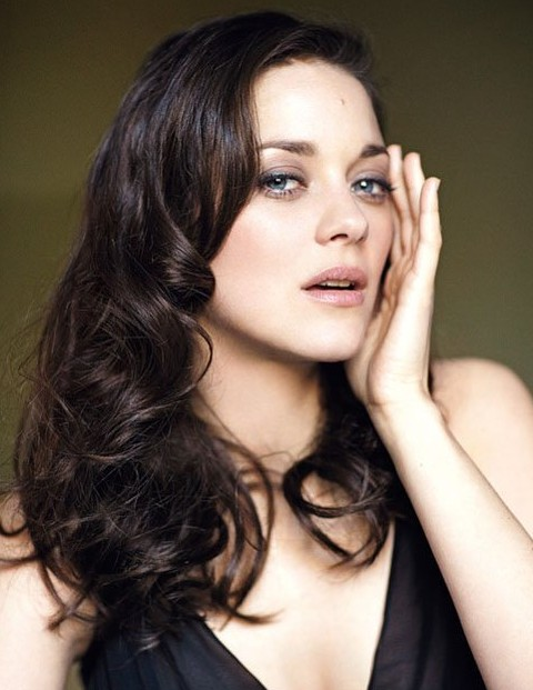 Incredible Marion Cotillard Long Hairstyle Big Curls Pretty Designs Hairstyle Inspiration Daily Dogsangcom