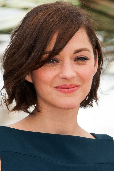 Marion Cotillard Short Hairstyle: Sweet Bob - Pretty Designs