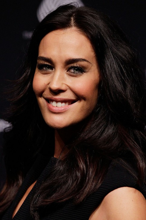 Megan Gale Long Hairstyle: Billowy Waves