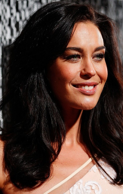 Megan Gale Long Hairstyle: Wavy Hair