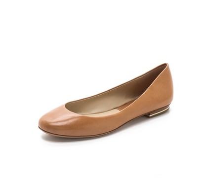Michael Kors Collection Pippa Ballet Flats, brown