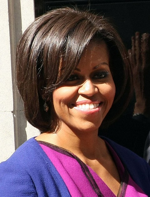 Superb Top 15 Michelle Obama Hairstyles Pretty Designs Short Hairstyles For Black Women Fulllsitofus