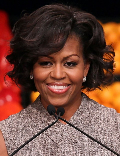 micro braid updo hairstyles : Michelle Obama Hair Highlights Hairstyle Gallery Auto Design Tech
