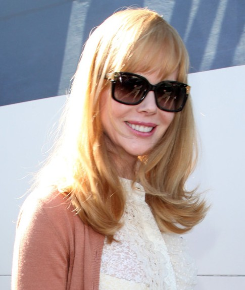 Nicole Kidman Long Hairstyle: Blonde Hair with Wispy Bangs