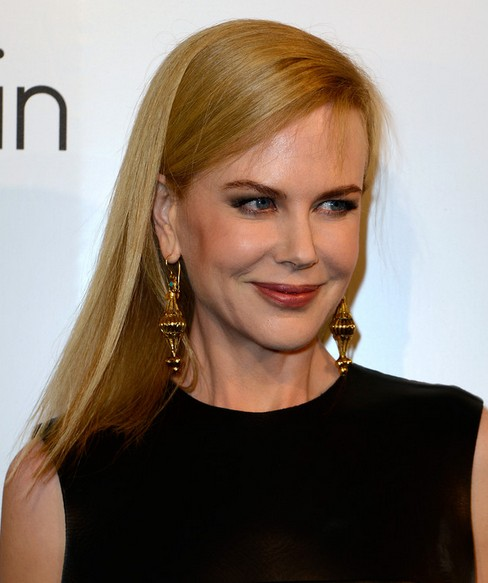 Nicole Kidman Long Hairstyle: Straight Hair