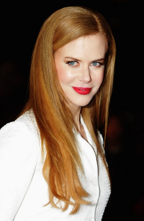 Nicole Kidman Long Hairstyle Straight Ombre Do  Pretty Designs
