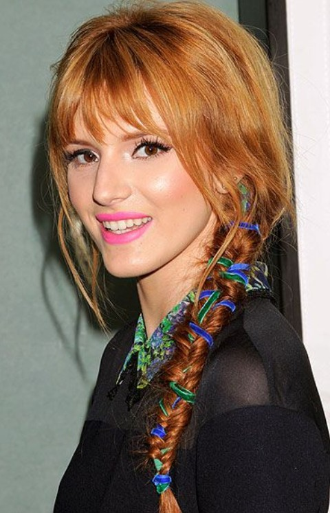Nicole Richie Hairstyles: Holiday Braid