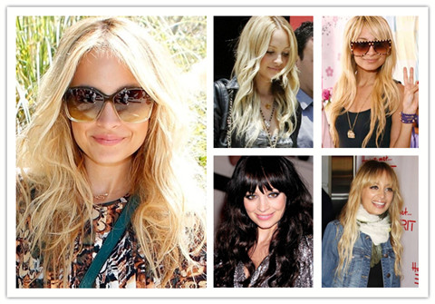Nicole Richie Hairstyles: Long Waves