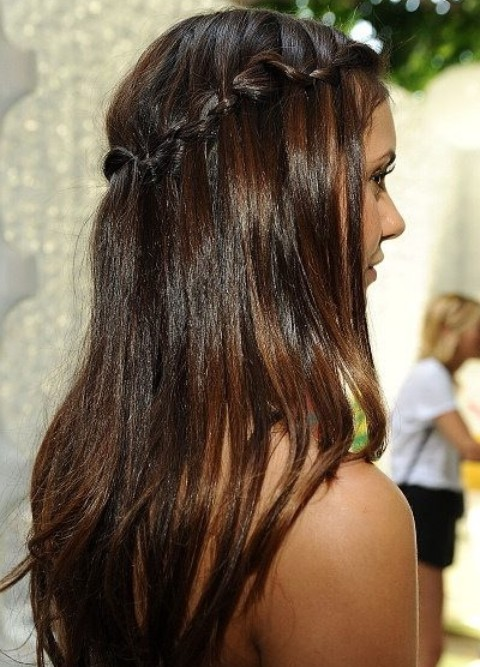 Nina Dobrev Hairstyles Bitty Braids Pretty Designs