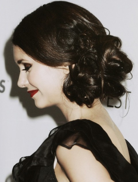 Admirable Nina Dobrev Hairstyles Gothic Look Pretty Designs Hairstyles For Men Maxibearus