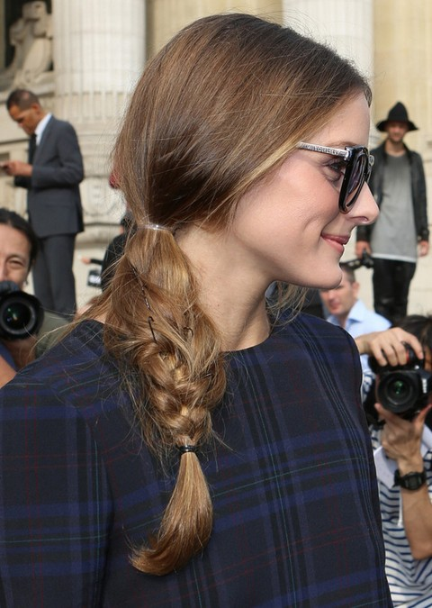 Olivia Palermo Hairstyles: Adorable Braid