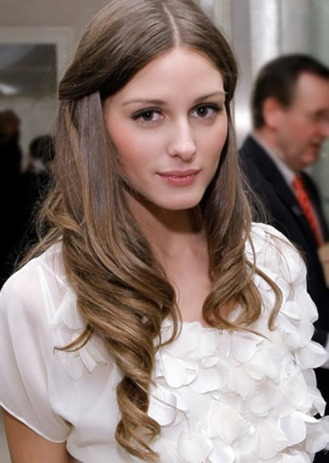 Olivia Palermo Hairstyles: Adorable Half-up Half-down