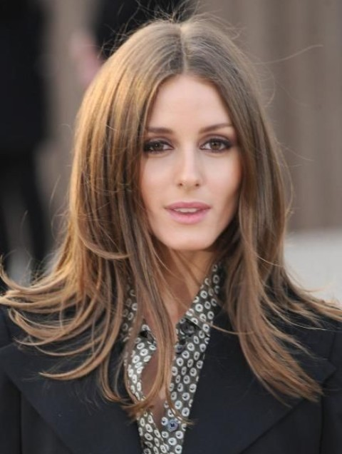 Olivia Palermo Hairstyles: Alluring Straight Haircut
