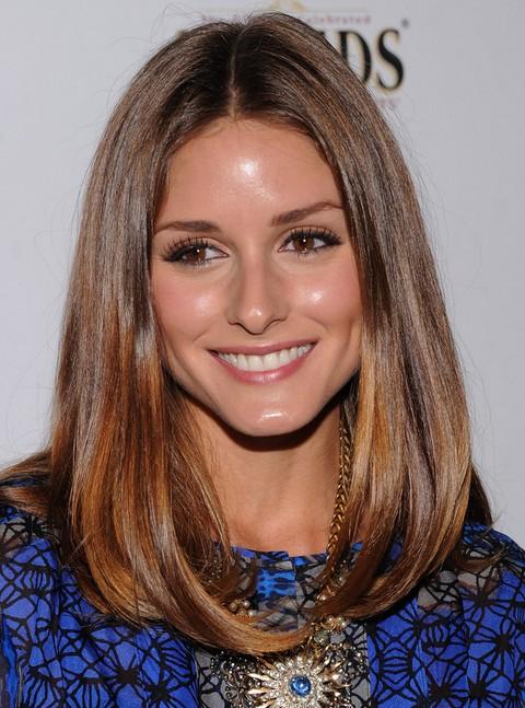 Olivia Palermo Hairstyles: Cute Mid-length Bob