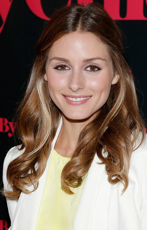 Olivia Palermo Hairstyles: Fairy Half-up Half-down