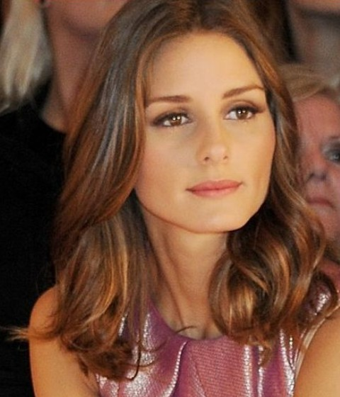 Olivia Palermo Hairstyles: Medium Curls
