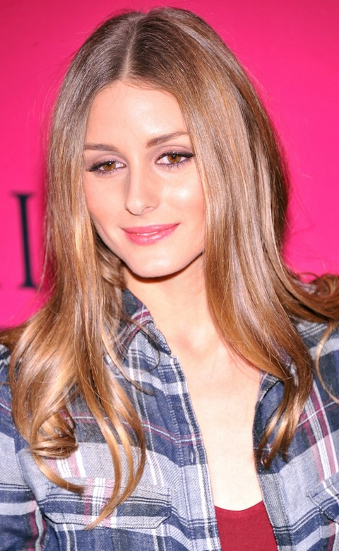 Olivia Palermo Hairstyles: Straight Haircut