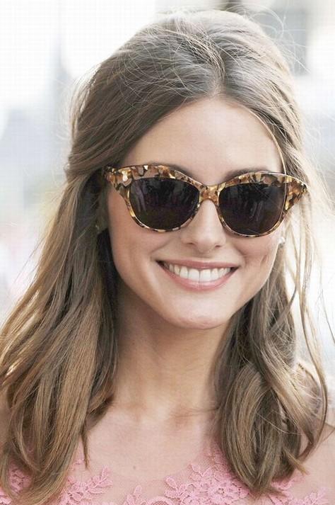 Olivia Palermo Hairstyles: Stylish Half-up Half-down