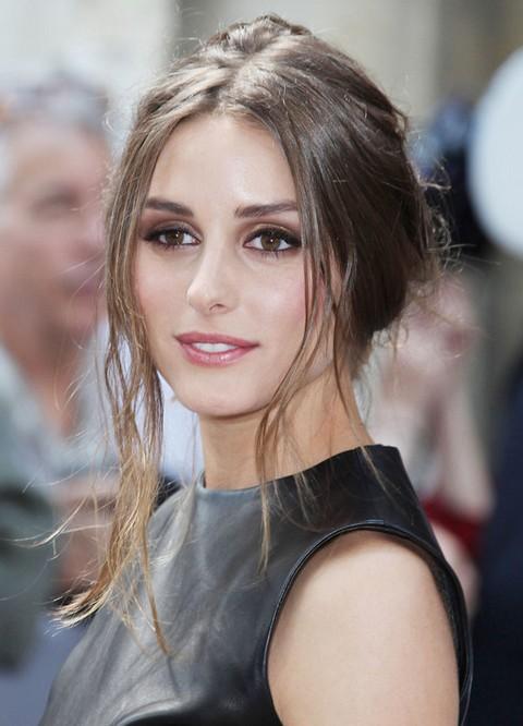 Olivia Palermo Hairstyles: Voguish Messy Updo