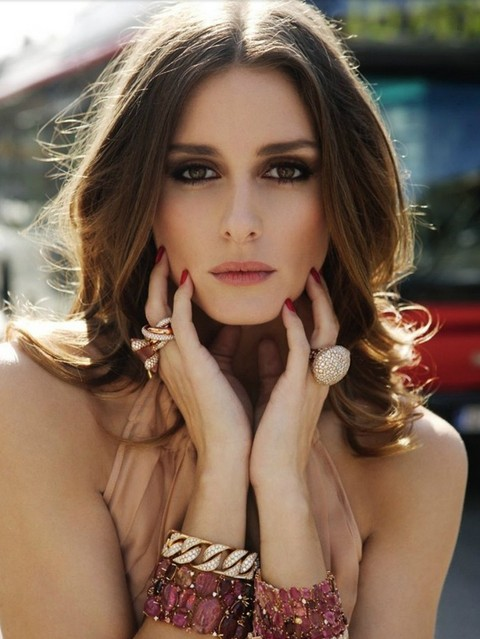 Olivia Palermo Hairstyles: Sexy Waves