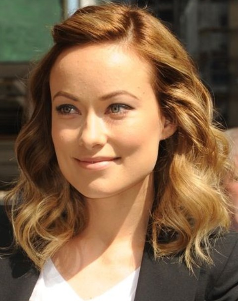 Olivia Wilde Hairstyles: Adorable Medium Curls