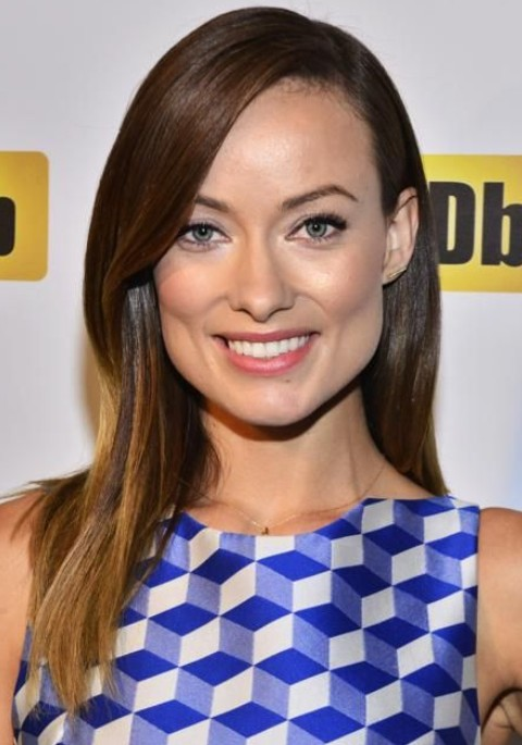 Olivia Wilde Hairstyles: Graceful Straight Haircut