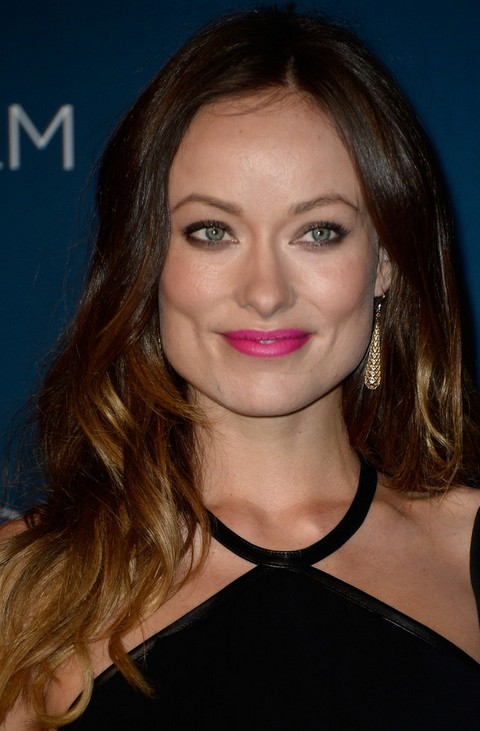Olivia Wilde Hairstyles: Ombre Loose Curls