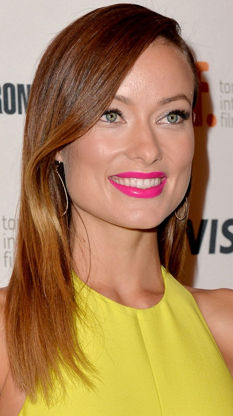 Olivia Wilde Hairstyles: Radiant Straight Haircut
