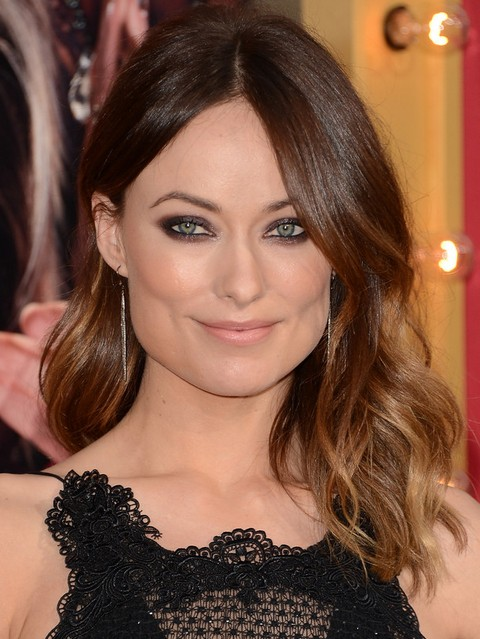 Olivia Wilde Hairstyles: Sassy Medium Haircut