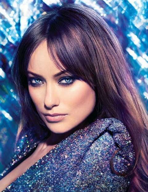 Olivia Wilde Hairstyles: Textured Straight Haircut