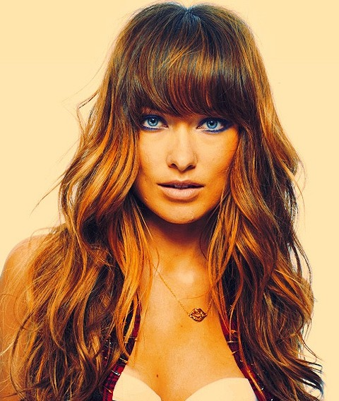 Olivia Wilde Hairstyles: Voluminous Long Curls