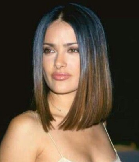 Ombre Long Bob Hairstyles